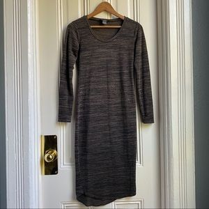 Chelsea & Theodore Long Sleeve Shirt Dress